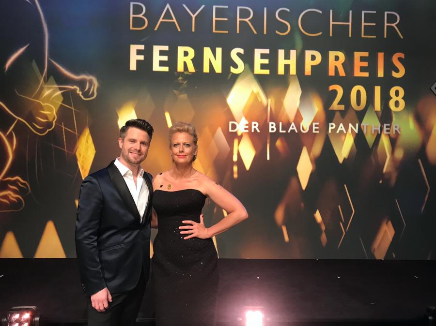 Cody Stone und Barbara Schöneberger