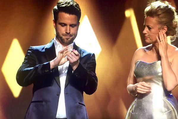 Bayrischer Fernsehpreis Cody Stone und Barbara Schöneberger